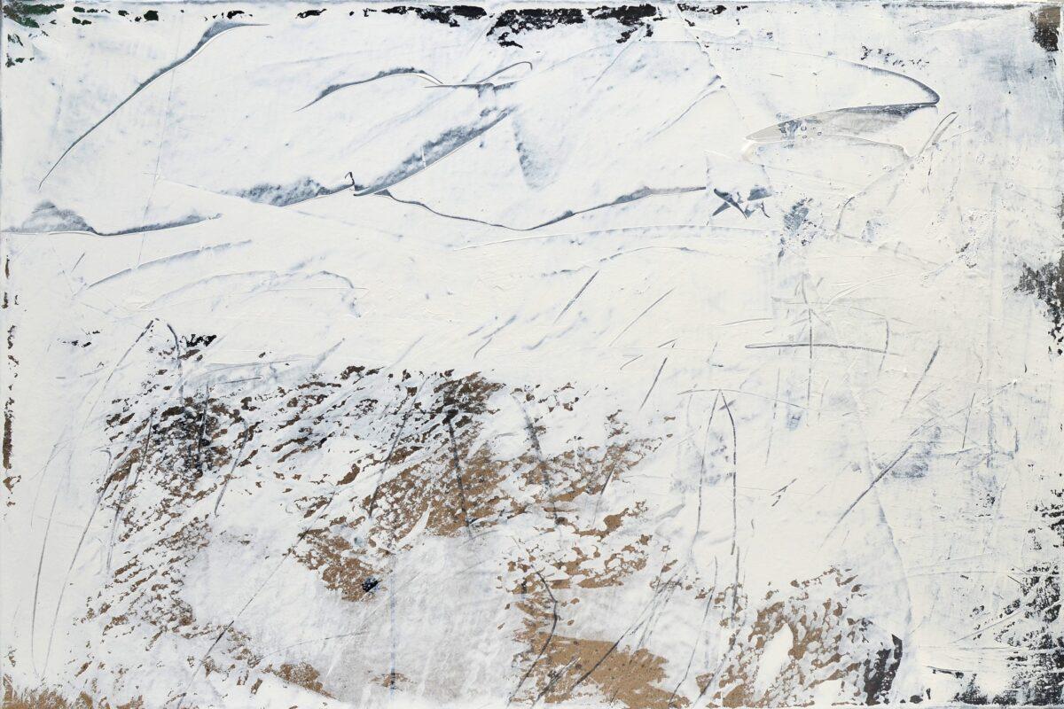 Oppljos, 65x97 cm, 2014